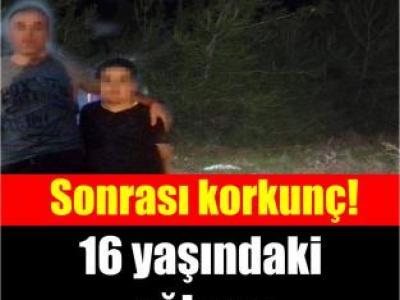 16 yaşındaki oğlunu ormana götürdü, sonrası korkunç