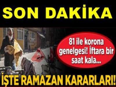 Ramazanda yeni yasak