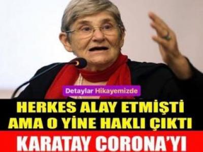 Canan Karatay bir kez daha haklı çıktı. Herkes dalga geçmişti ama o korkmadan açıklamıştı