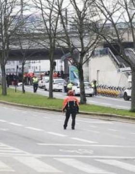 Brüksel'de AB kurumları tatil edildi