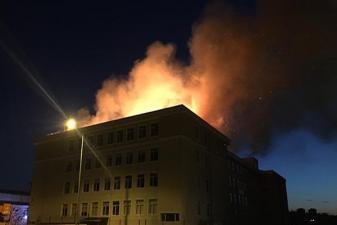 Son Dakika: Edirne'de okul yangını!