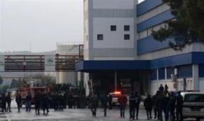 Son dakika Ayvalık'ta yağ fabrikasında patlama