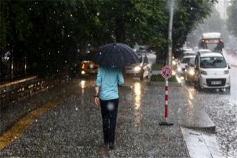 İstanbullular dikkat! Yağışlı hava geliyor