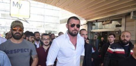 'Çerkez Cengiz' 10 aylık hapis cezası için 100 araçlık konvoyla cezaevine gitti!