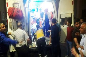 Batman Kozluk'ta patlama: Ambulanslar sevk edildi