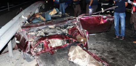 Korkunç Kaza, Görenler Neye Uğradığını Şaşırdı!