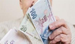 Emekliye ocak ayında 144 lira zam
