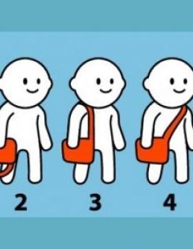 Çantanızı takma şekliniz karakteriniz konusunda ipuçları veriyor