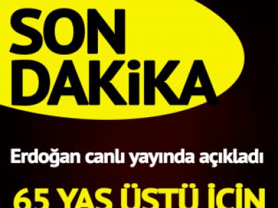Son dakika… Erdoğan yeni kararları açıkladı: Seyahat kısıtlaması kalktı, kafe ve restoranlar açılacak