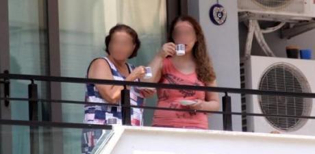 Rezidansın 13. katından düşüp öldü, komşuları balkonda kahve içerek izledi