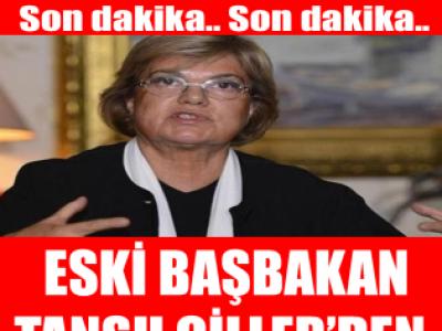 Tansu Çiller'in eşi Özer Çiller hastaneye kaldırıldı