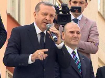 Cumhurbaşkanı Erdoğan Hemşerilerine Hitap Etti
