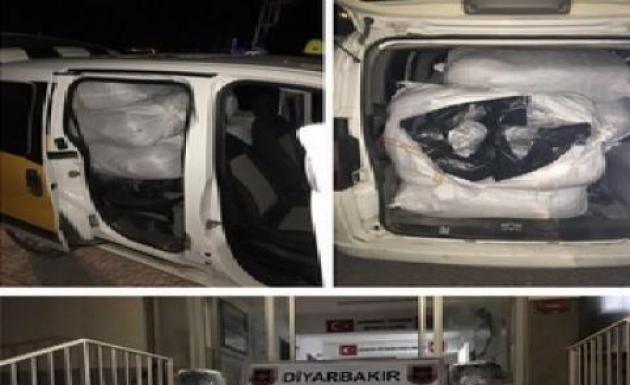 175 Kilo Kubar Esrar Diyarbakır'da Yakalandı