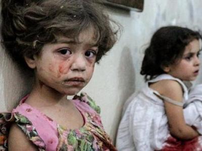 Rejim Başkent Şam'da Sivilleri Vurdu