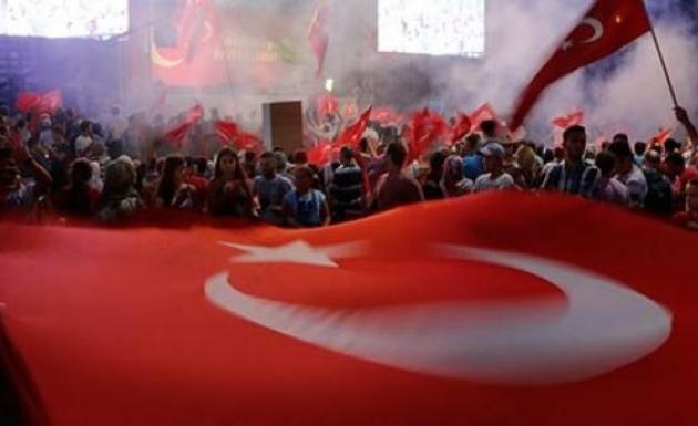 Demokrasi Nöbetin'de Elazığ 24 Saat Nöbette