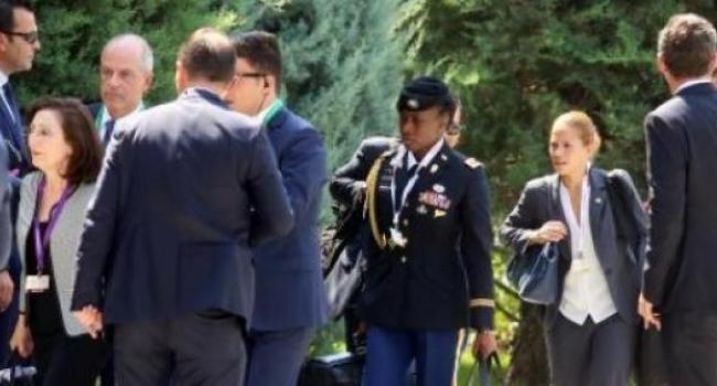 Biden, Başbakan Binali Yıldırım ile Çankaya Köşkünde