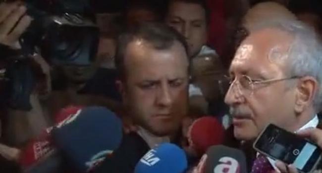 Kılıçdaroğlunu Havalimanında Karşıladılar