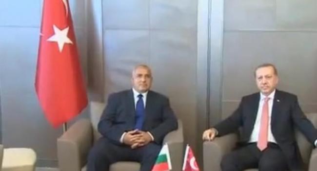 Cumhurbaşkanı Erdoğan, Bulgaristan Başkanını Kabul Etti