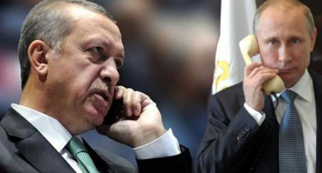 Cumhurbaşkanı Erdoğan Putin'le G-20 Öncesi Telefonda Görüştü