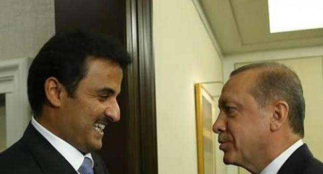 Cumhurbaşkanı Erdoğan Katar Emiriyle Görüştü