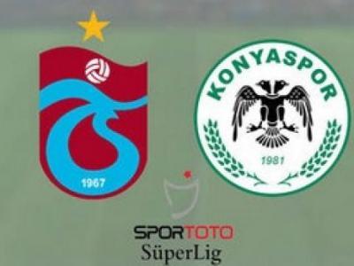 Trabzonspor Atiker Konyaspor Turgay Şeren Sezonu 5. Hafta