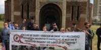 Kampüs İçinde Kilise Protesto Edildi