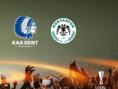 Gent Atiker Konyaspor UEFA Avrupa Ligi