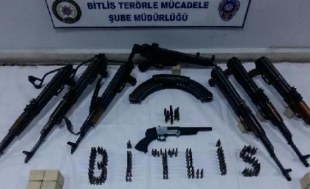 Bitlis'te Terör Operasyonu 2 Kişi Yakalandı