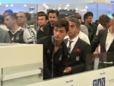 Beşiktaş Kafilesi İtalya'dan Döndü
