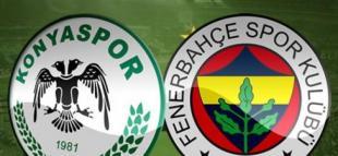 Atiker Konyaspor Fenerbahçe Turgay Şeren Sezonu 8. Hafta