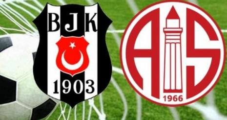 Beşiktaş Antalyaspor Turgay Şeren Sezonu 8. Hafta