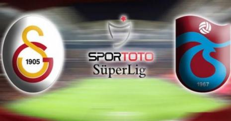 Galatasaray Trabzonspor Turgay Şeren Sezonu 8. Hafta