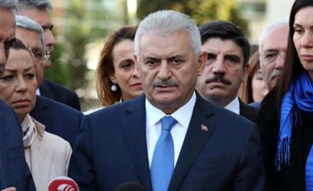 Başbakan Binali Yıldırım Vurulan PYD Hedefleri Hakkında Açıklama Yaptı
