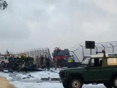 AB Yetkililerini Taşıyan Uçak Malta Sınırında Düştü