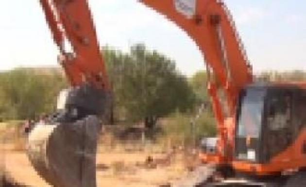 Kaybolan Bekçi Su Kanalında Aranıyor