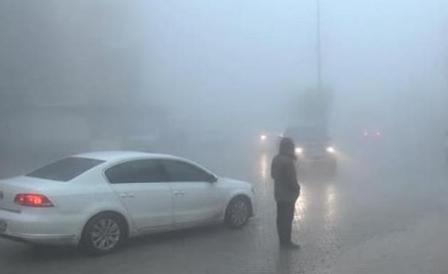 Şırnak'ta Sis Görüş Mesafesini Kapattı