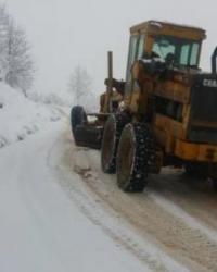 Ordu'da Kar Kalınlığı 30 Santime Ulaştı