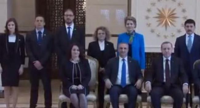 İsrail Büyükelçisi Cumhurbaşkanlığı Külliyesi'nde Kabul Edildi
