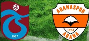 Trabzonspor Adanaspor Turgay Şeren Sezonu 14. Hafta