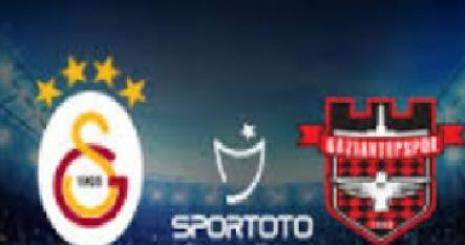 Galatasaray Gaziantepspor Turgay Şeren Sezonu 14. Hafta