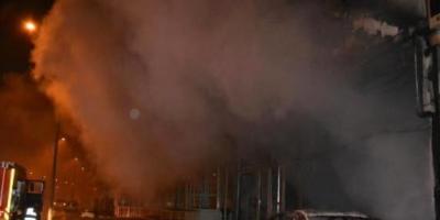Bina Altında Yangın Kundaklama Nedeniyle Çıktı