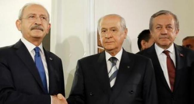 TBMM'de CHP ve MHP Genel Başkanları Görüştü