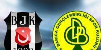 Beşiktaş Darıca Gençlerbirliği Türkiye Kupası D Grubu