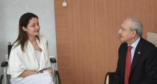Kılıçdaroğlu, Şafak Pavey'i Ziyaret Etti