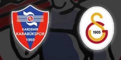 Karabükspor Galatasaray Turgay Şeren Sezonu 18. Hafta