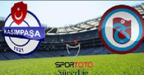 Kasımpaşa Trabzonspor Turgay Şeren Sezonu 18. Hafta