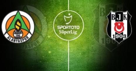 Aytemiz Alanyaspor Beşiktaş Turgay Şeren Sezonu 18. Hafta