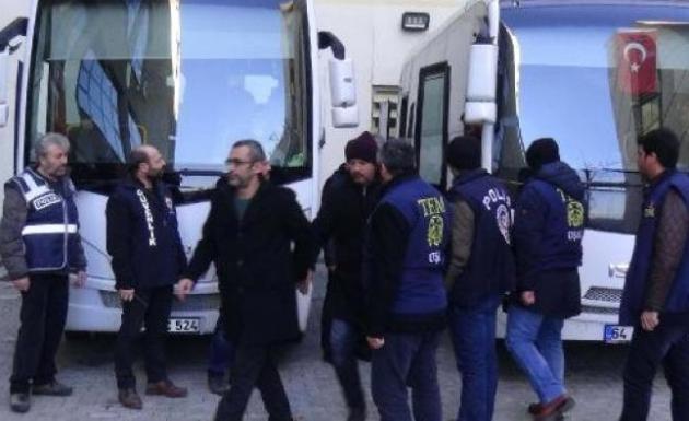 28 Polis FETÖ/PYD'den Adliyeye Sevk Edildi