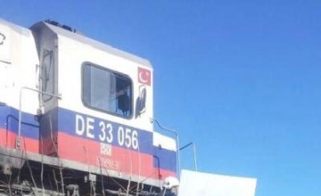 Malatya'da Tren Kazası 3 Yaralı