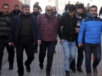 Cinayet İşleyen 3 Suriyeli Adliye'ye Getirildi